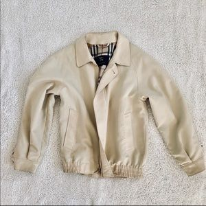 Burberry Bomber Jacket Size Small